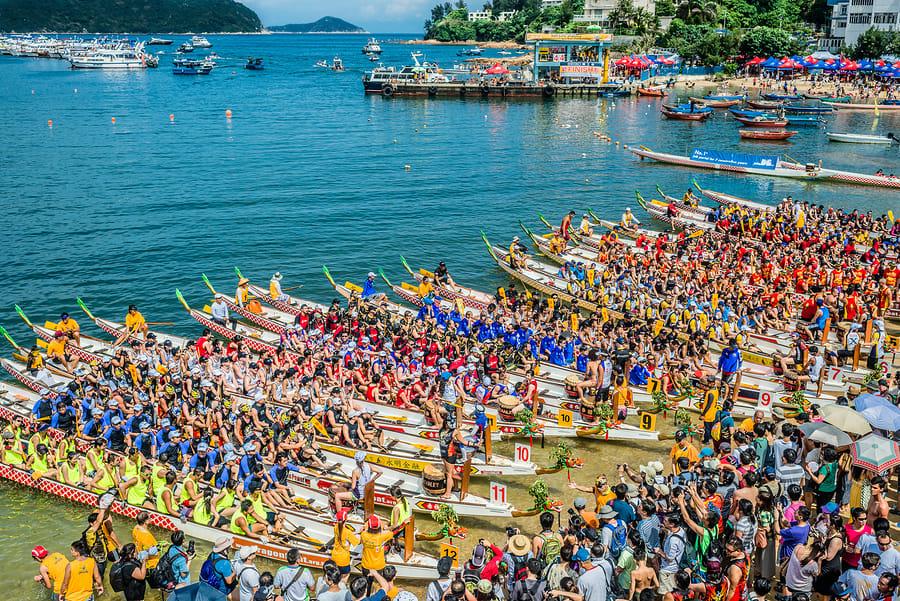 Festivais típicos da cultura asiática: Festival do Dragon Boat