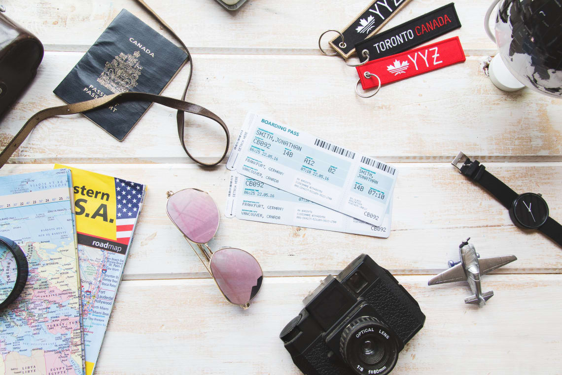 Miscellaneous travel accessories