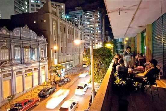 Bares alternativos em Belo Horizonte: Galeria Maletta