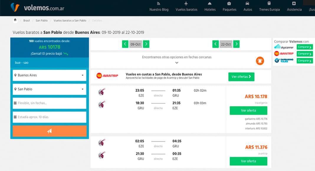 Todo lo que debes saber para viajar barato en Brasil - worldpackers - buscador de vuelos volemos.com