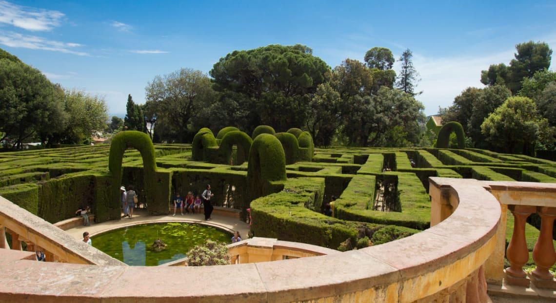 Viagem para a Espanha: Laberint d'Horta