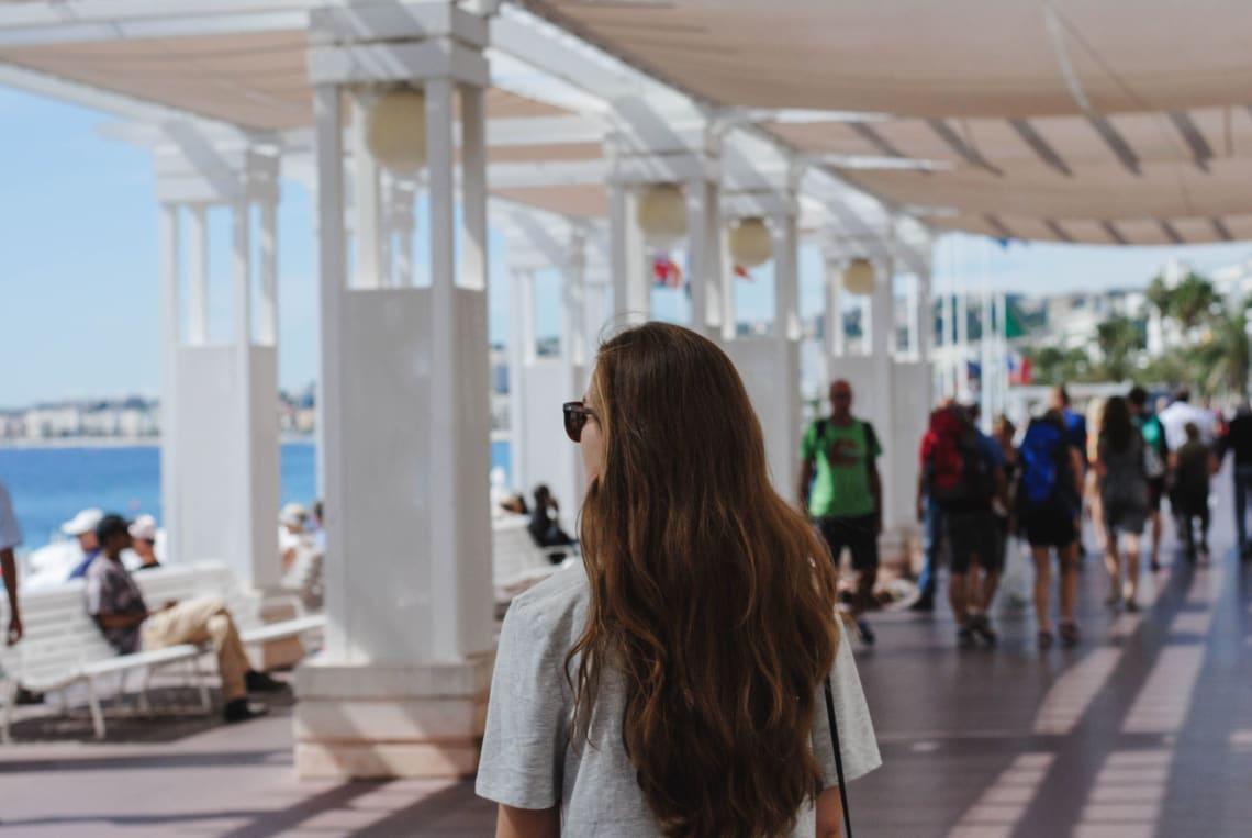 Solo female traveler on sabbatical