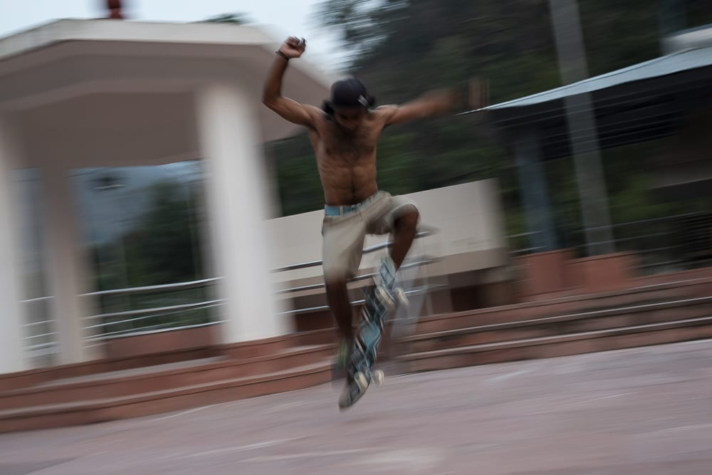 skateboard en la India, Rishikesh