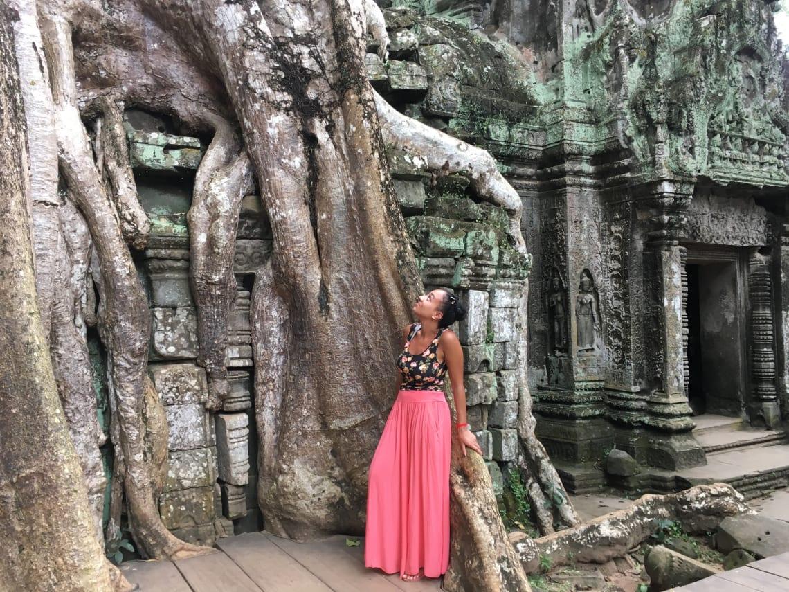 Exploring Angkor Wat, Cambodia