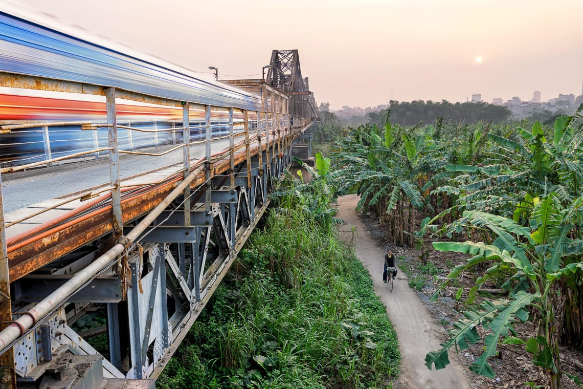 Cầu Long Biên, Hanoi, Vietnam