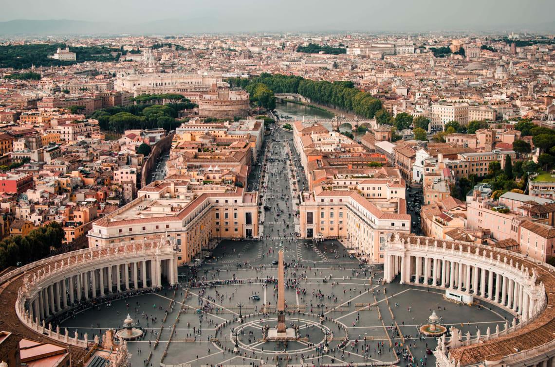 Italy destinations: Rome, Lazio