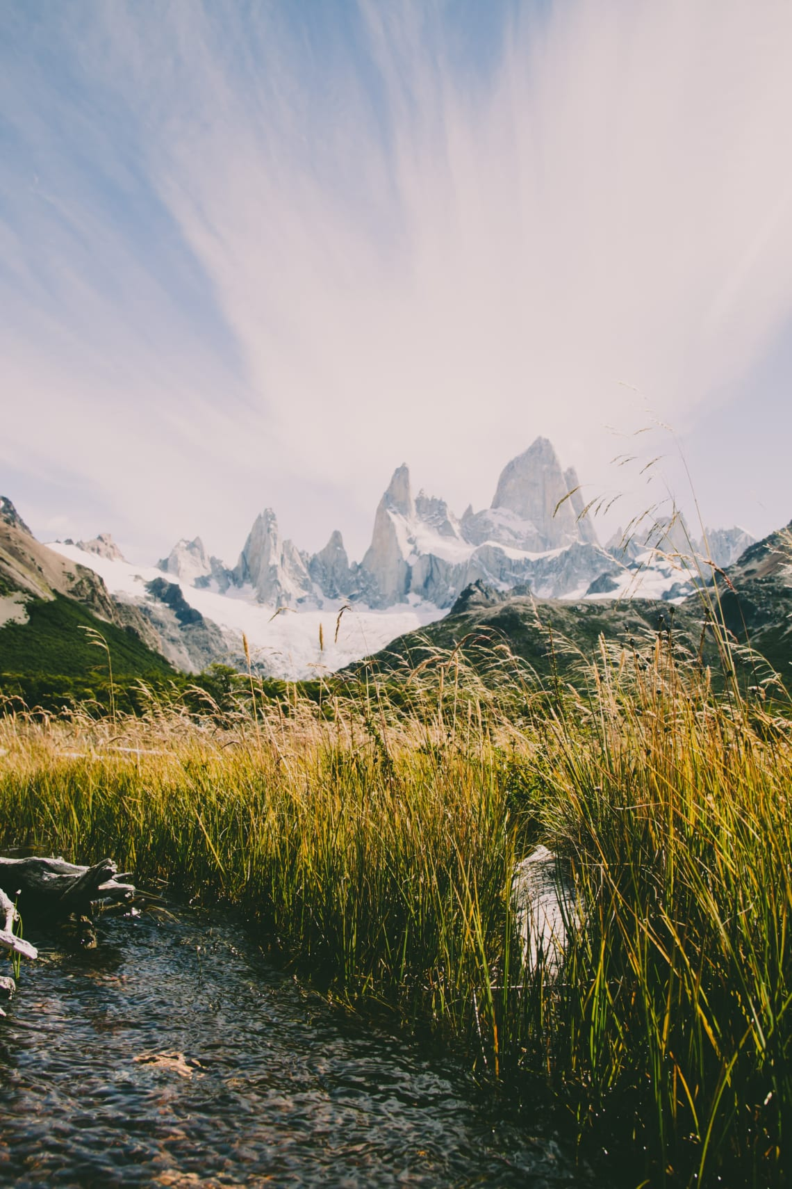Inspirational places to travel:Los Glaciares National Park, Chile / Argentina