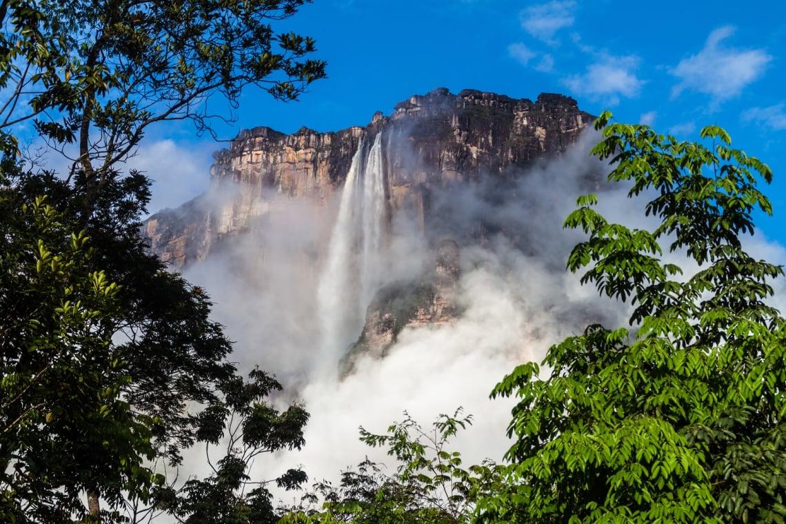 Inspiring places:Angel Falls, Venezuela