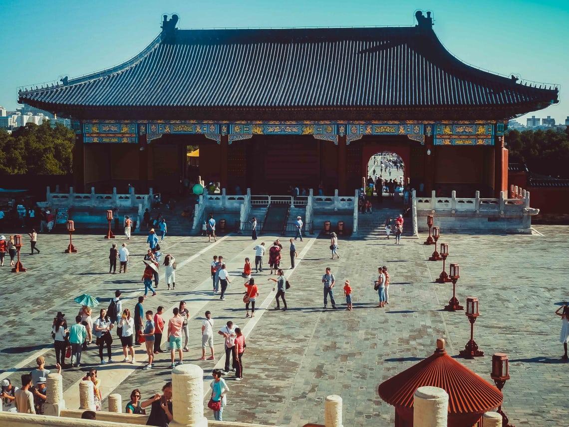 Viagem para a China: Templo do Céu