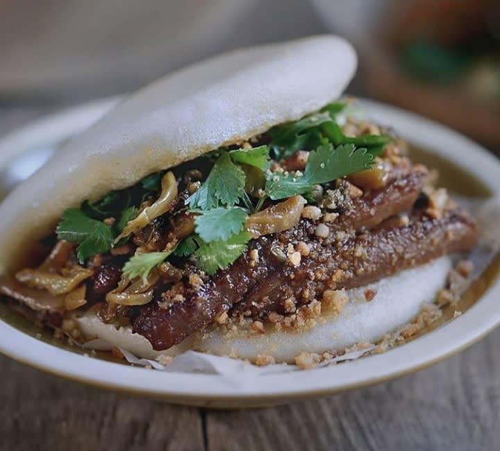 Pratos da comida asiática para provar: Gua Bao