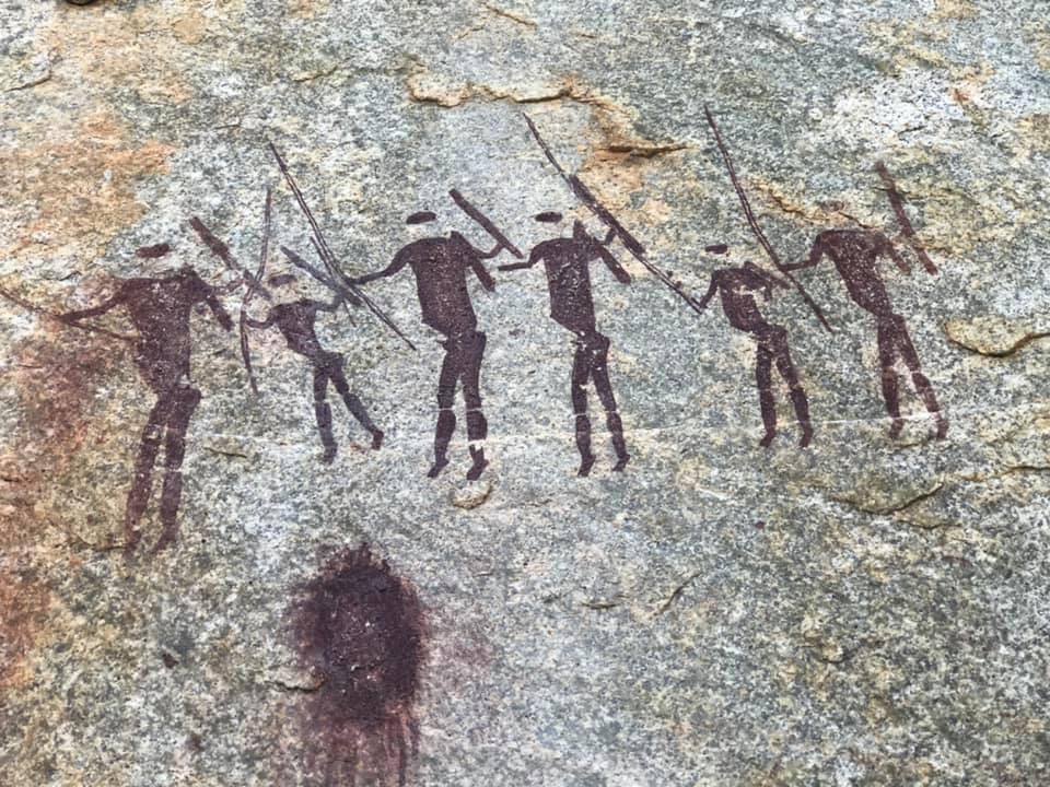 cultura africana pinturas rupestres africa austral