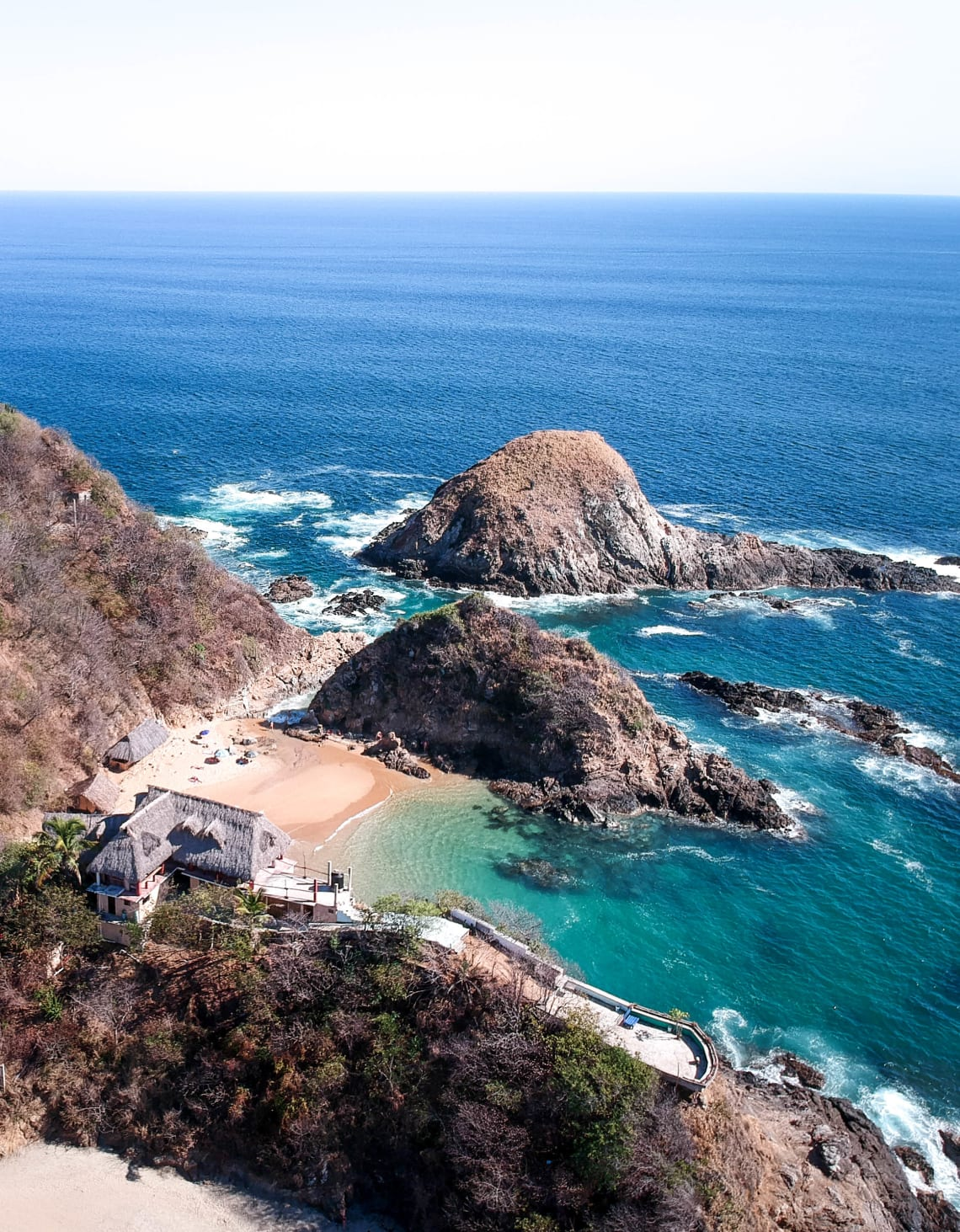 Lugares baratos  para visitar Puerto Escondido, México - Worldpackers - playa mexico puerto escondido