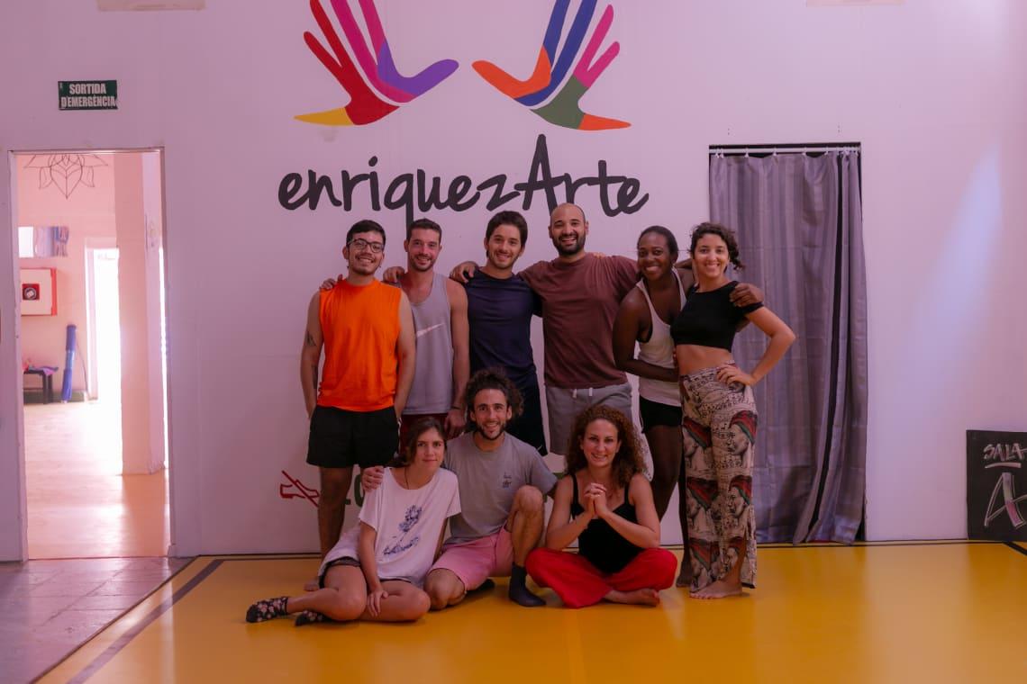 Sala de dança do projeto