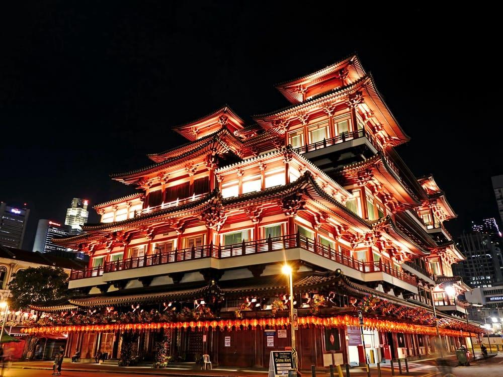 Mega guía para viajar a Singapur - Worldpackers- barrio chino en singapur