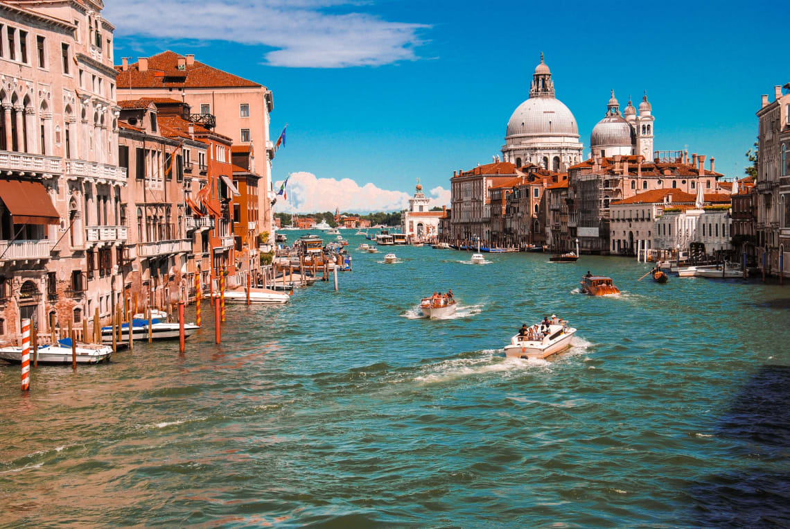 Venice in summer, Italy, Europe