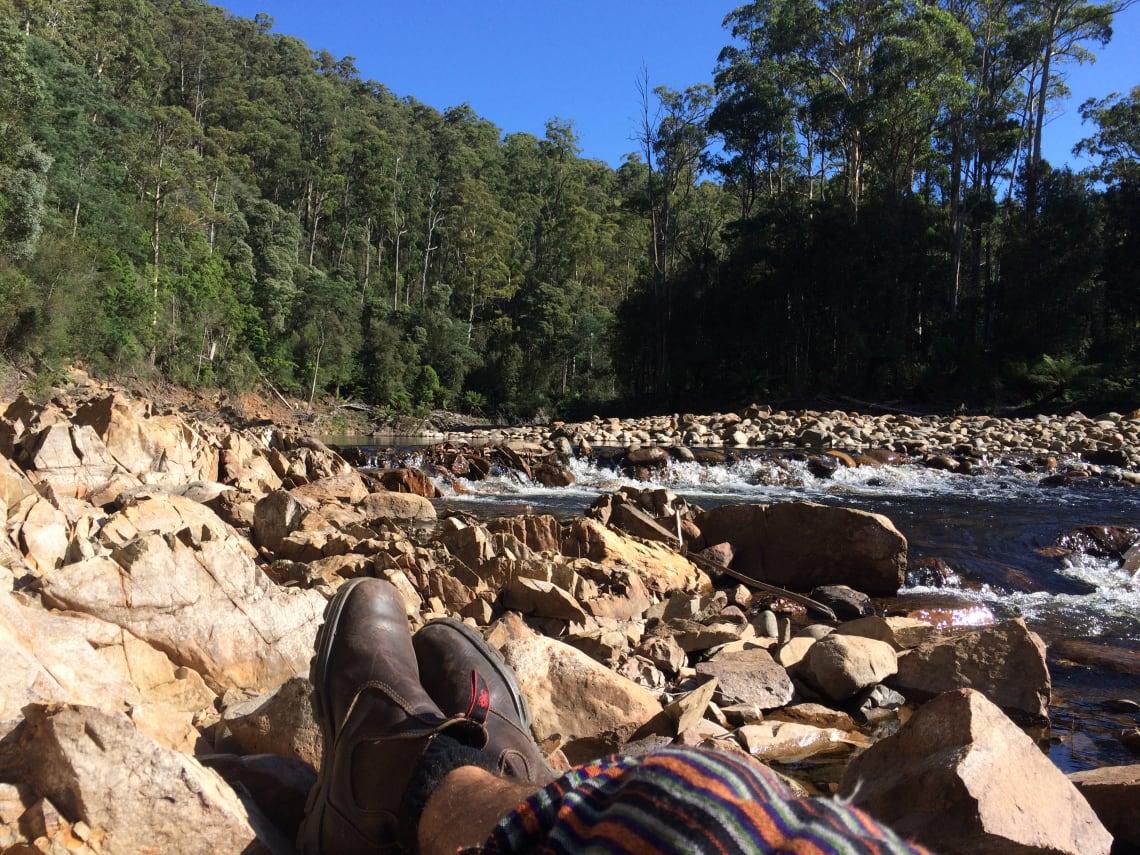 Encontro no interior da Austrália
