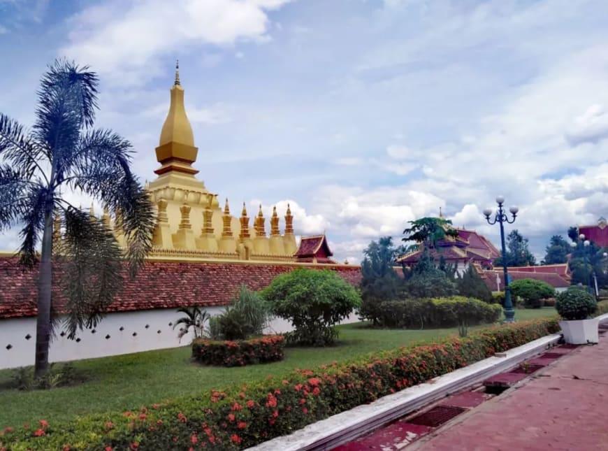 Templo Pha That Luang