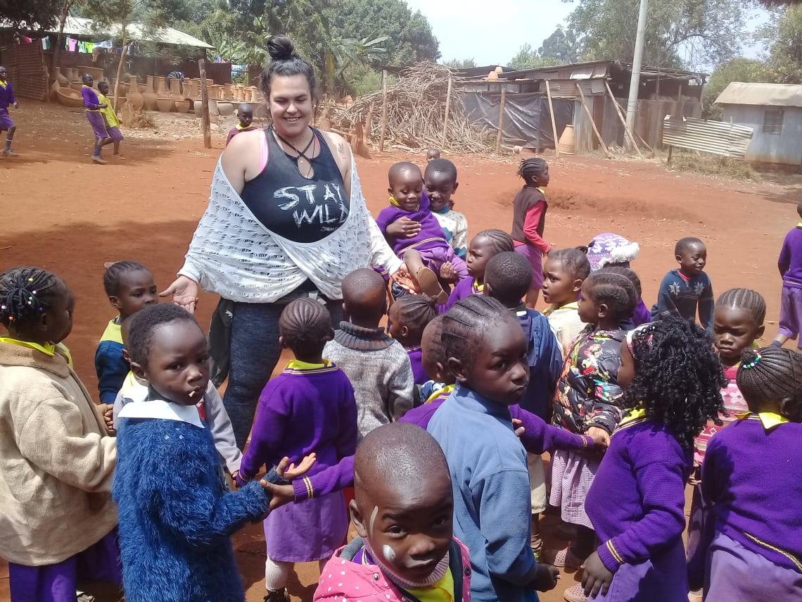 Ser voluntário e trabalhar com crianças