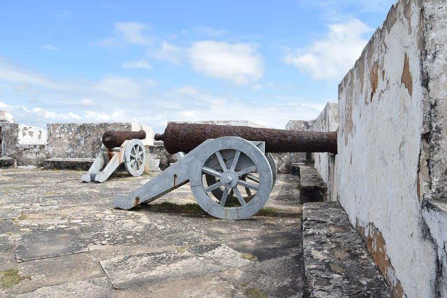 Canhões do Forte dos Reis Magos