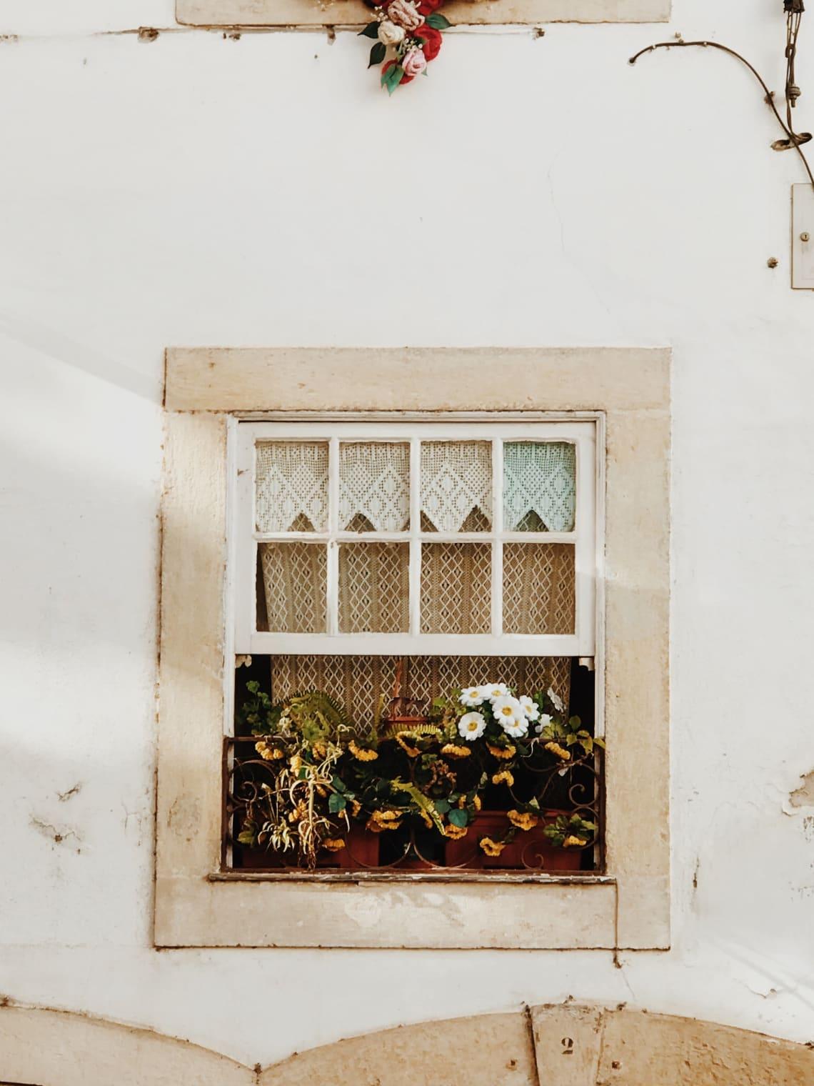 Cute streets in Coimbra, Portugal