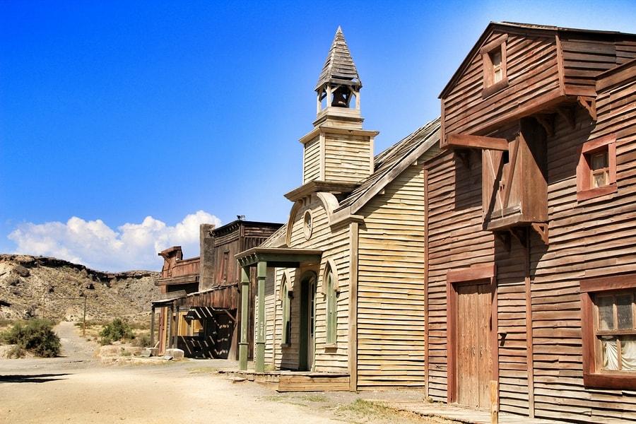 Casas no Deserto de Tabernas