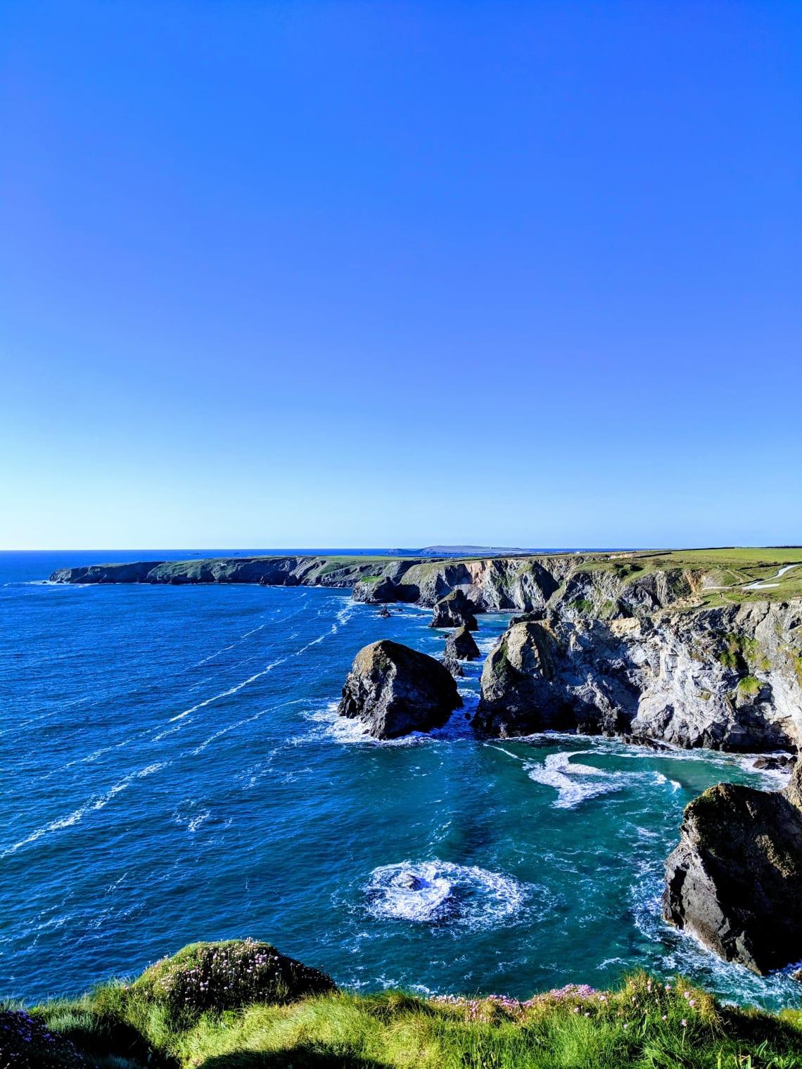 S W Coast Path, Cornwall, United Kingdom
