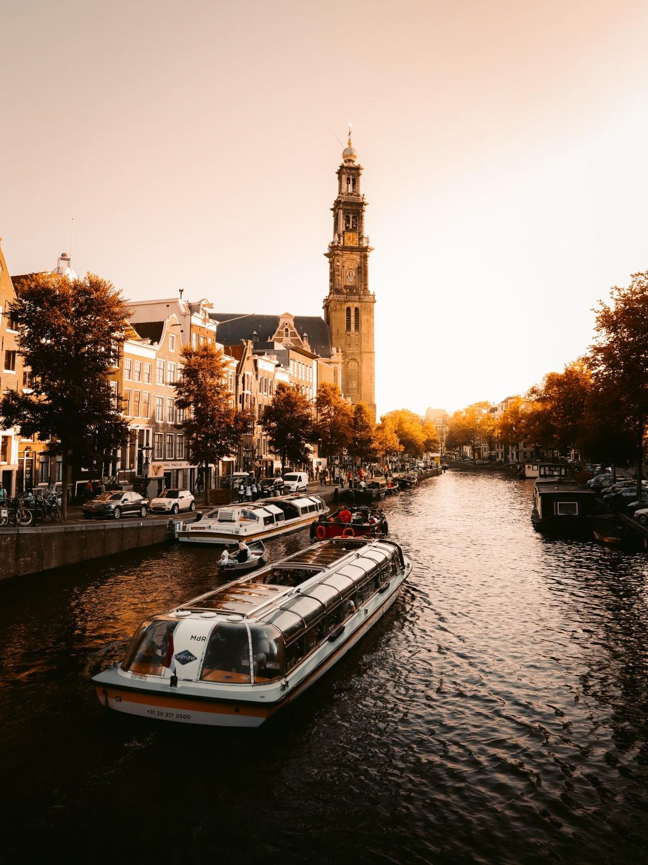 Canal cruise, Amsterdam, Netherlands