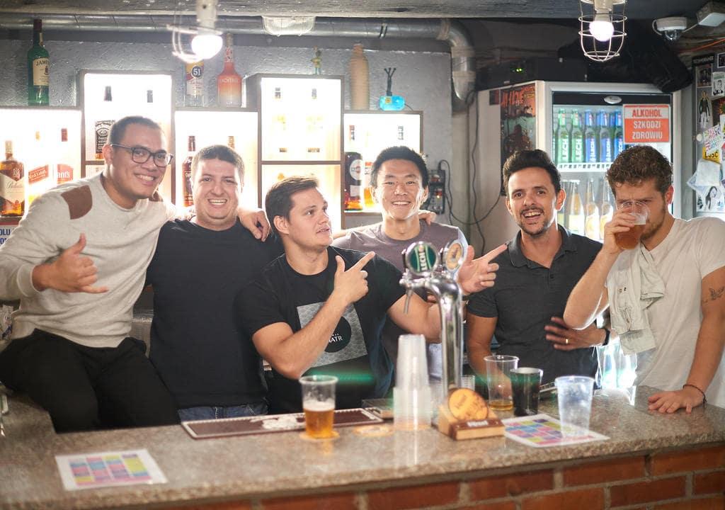 Be a volunteer bartender at Patchwork Hostel, Warsaw, Poland