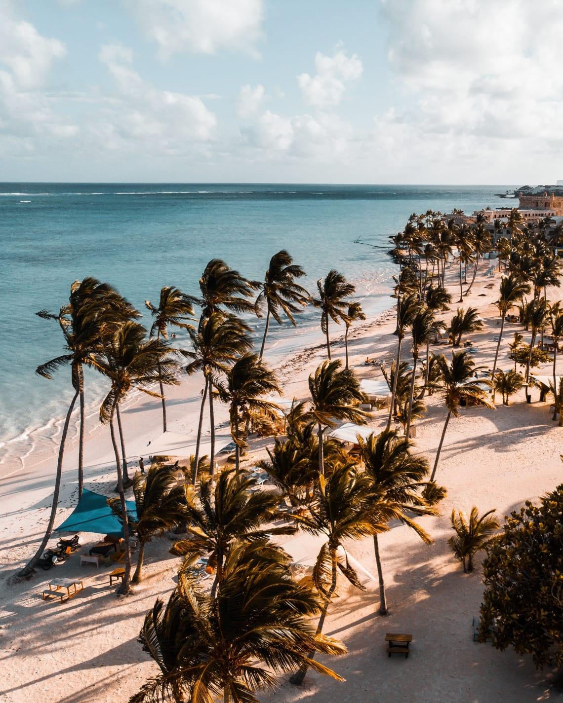 Beautiful beach, Dominican Republic