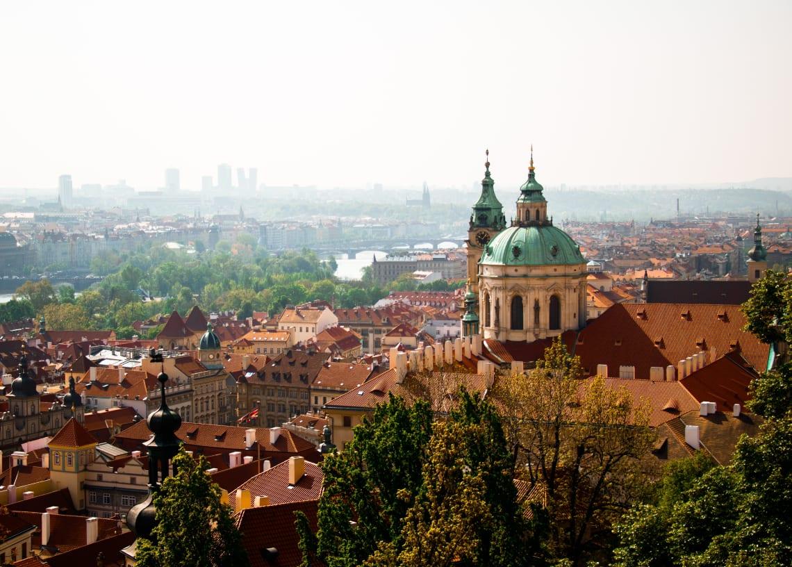 Praga, na República Tcheca, é uma das cidades mais baratas para nômades digitais
