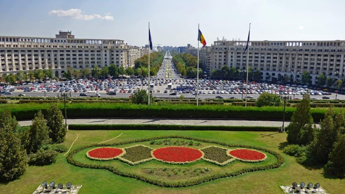Viagem para a Romênia: Bucareste, capital do país.