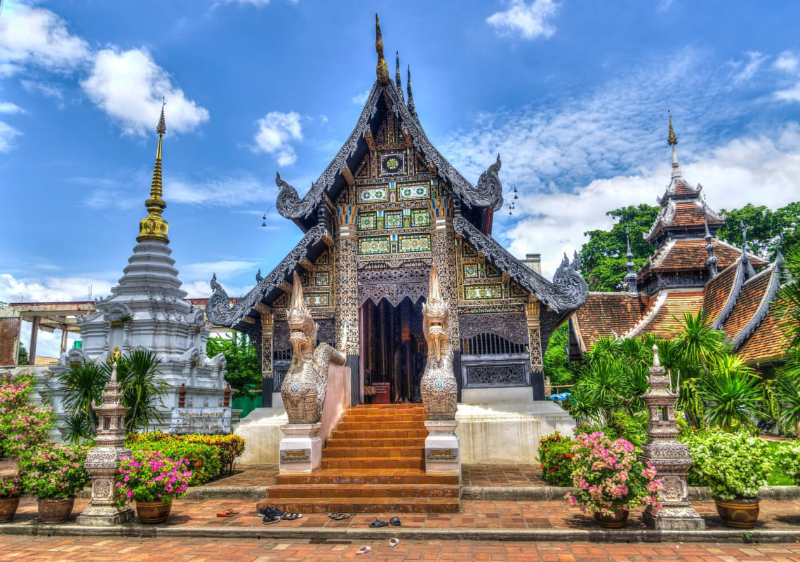 Temples of Chiang Mai, Thailand.