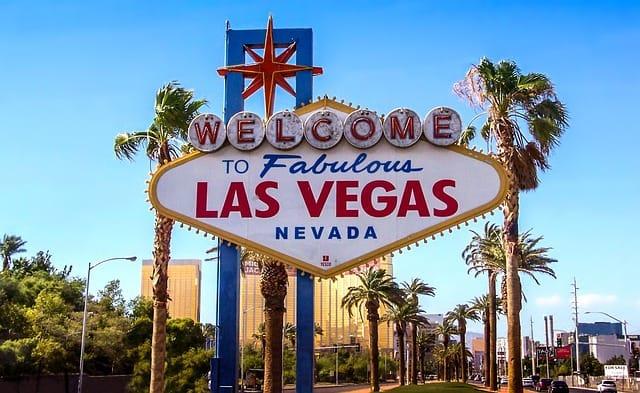 Famoso letreiro de Las Vegas
