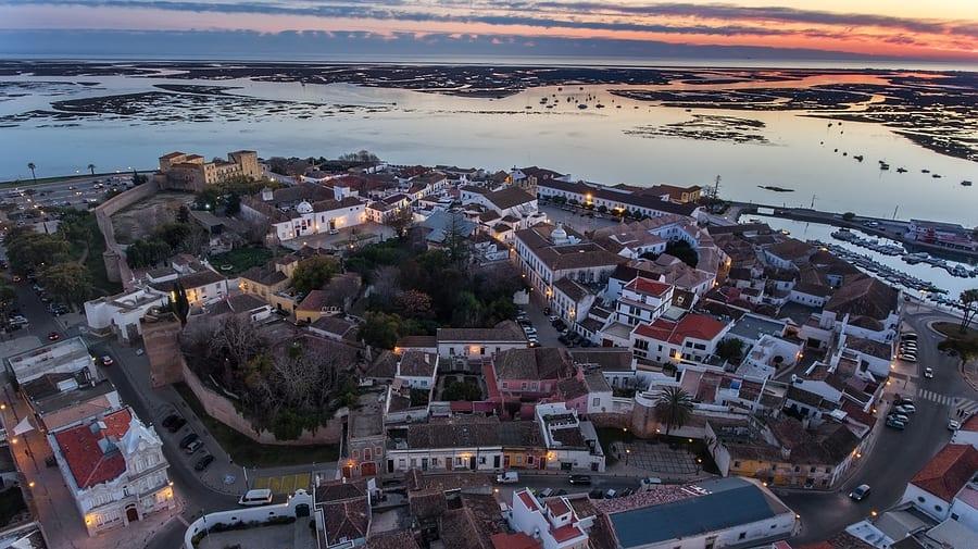 Viagem para Portugal: Vista da torre de Faro