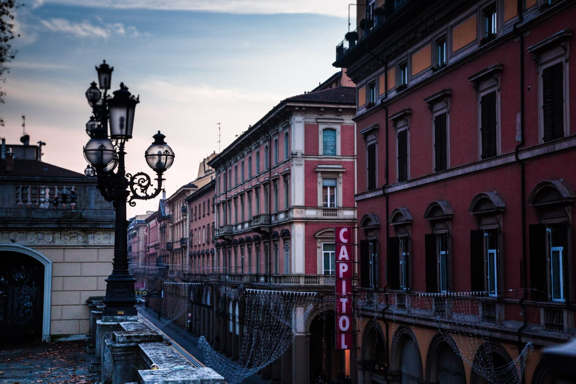 Inspirational places: Bologna, Italy
