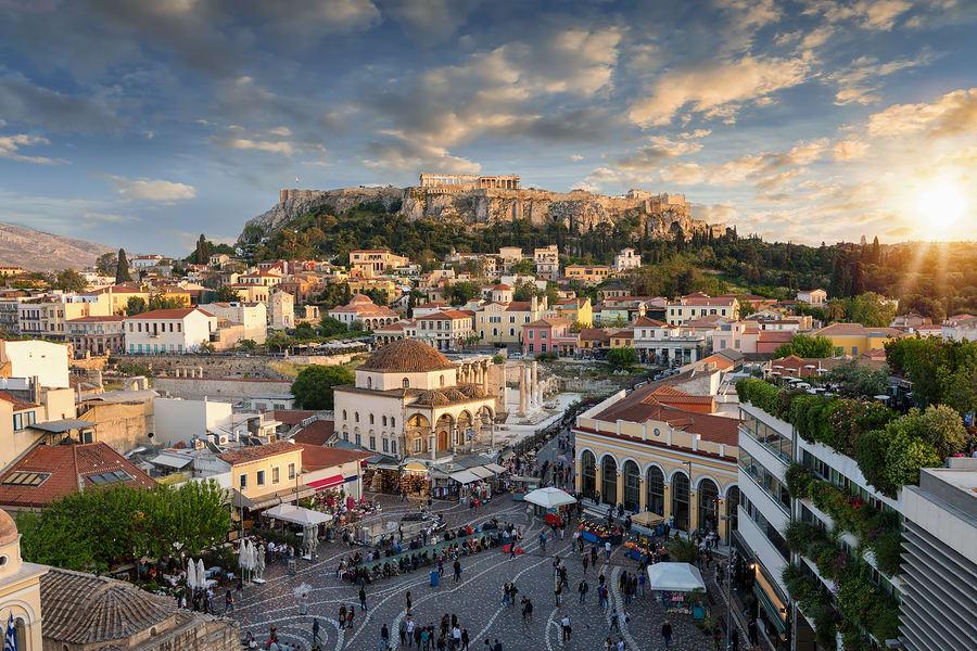 Cidades baratas para viajar na Europa: Atenas.