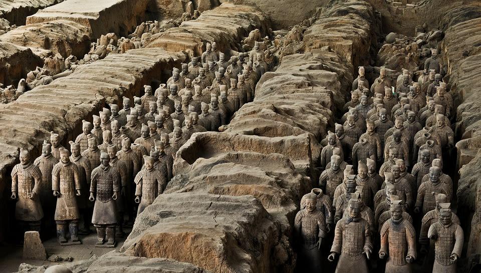 Diez lugares que no debes perderte en tu viaje por China - Guerreros de Terracota - Worldpackers