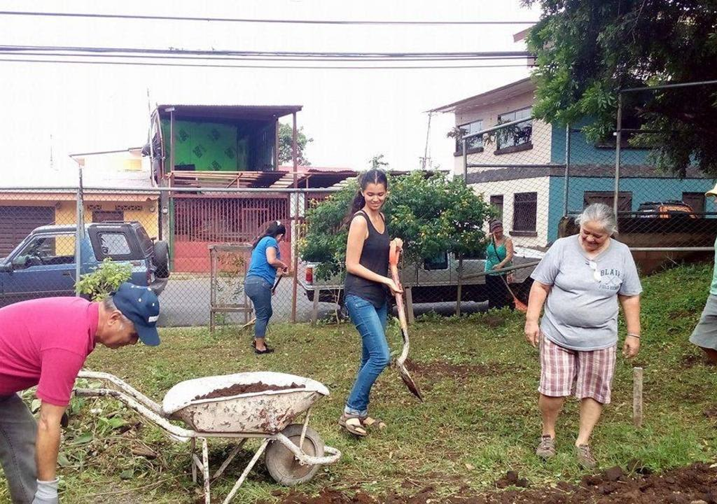 Voluntários na Costa Rica