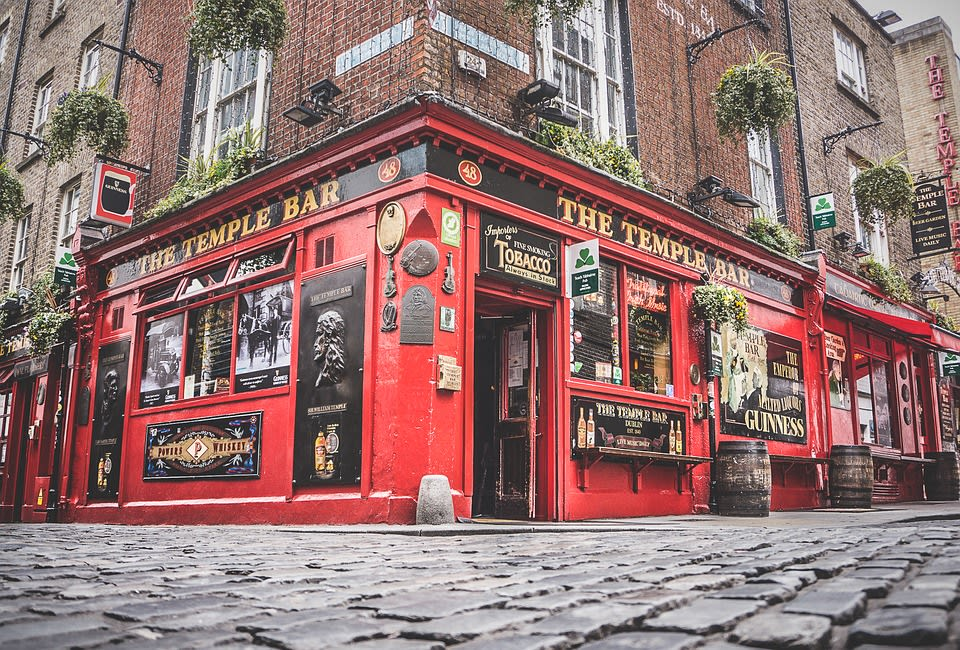 The Temple Bar, pub famoso em Dublin