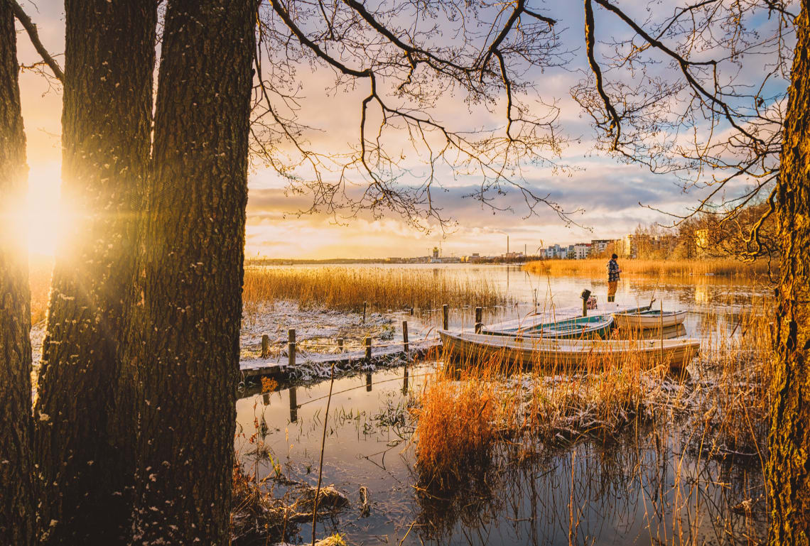 Com lindas paisagens, a Finlândia também está entre os países mais seguros do mundo