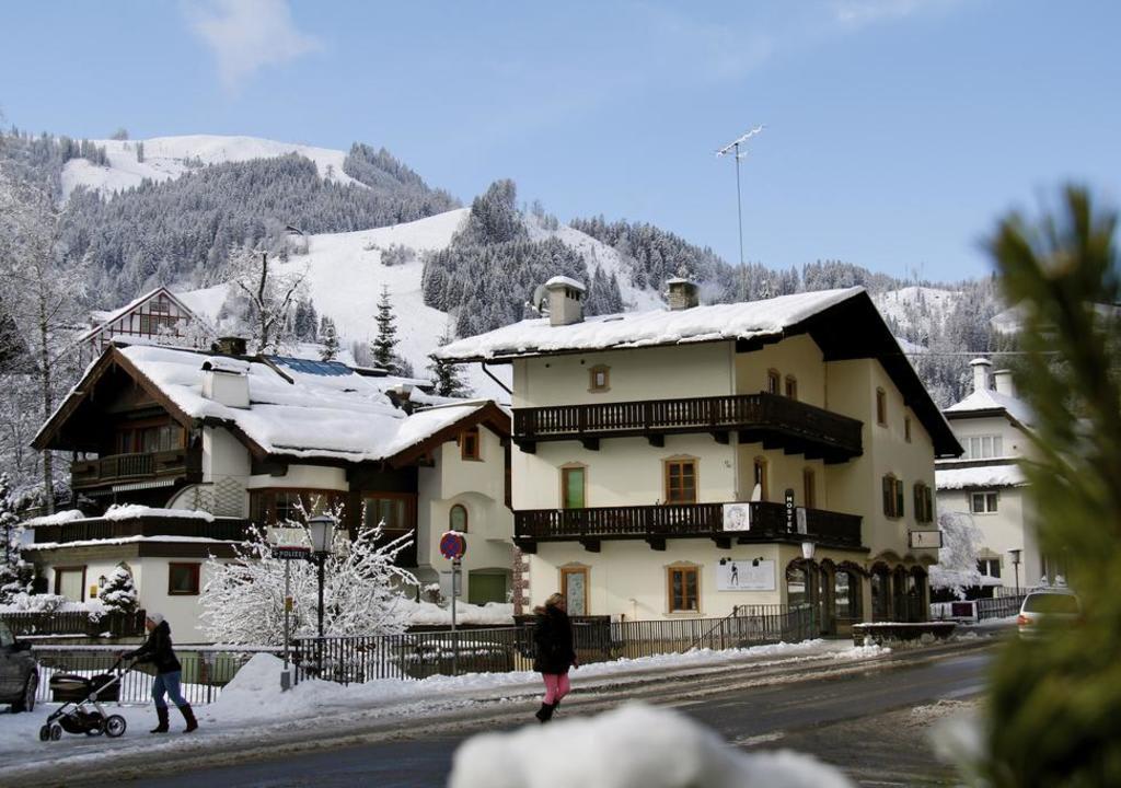 a pequena cidade de Kitzbühel