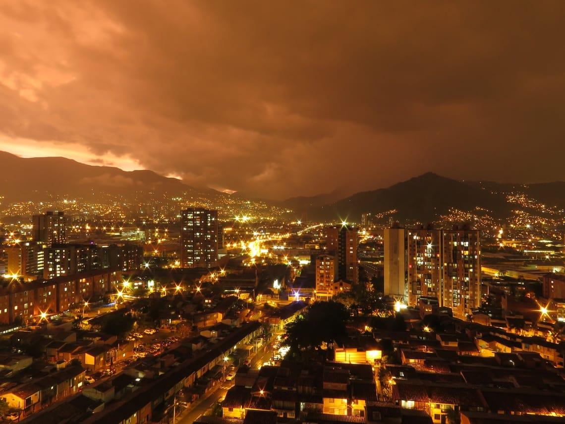 Medellin é uma das principais cidades colombianas