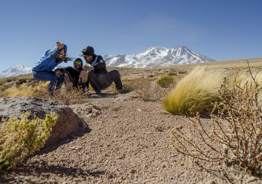 Intercambio de trabalho - Atacama
