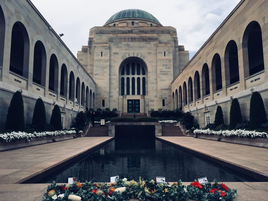 ponto turistico de Canberra