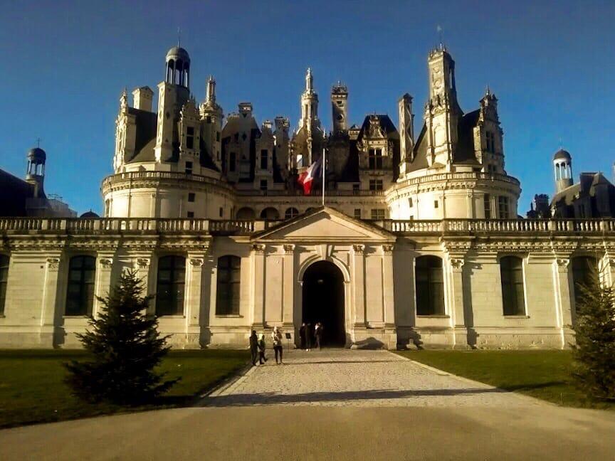 Castelo no interior da França