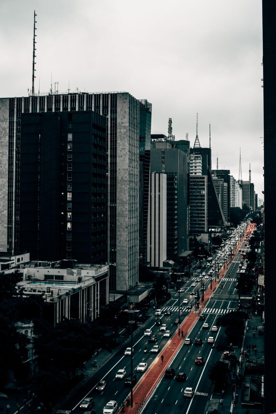 Avenida Paulista, principal avenida de São Paulo