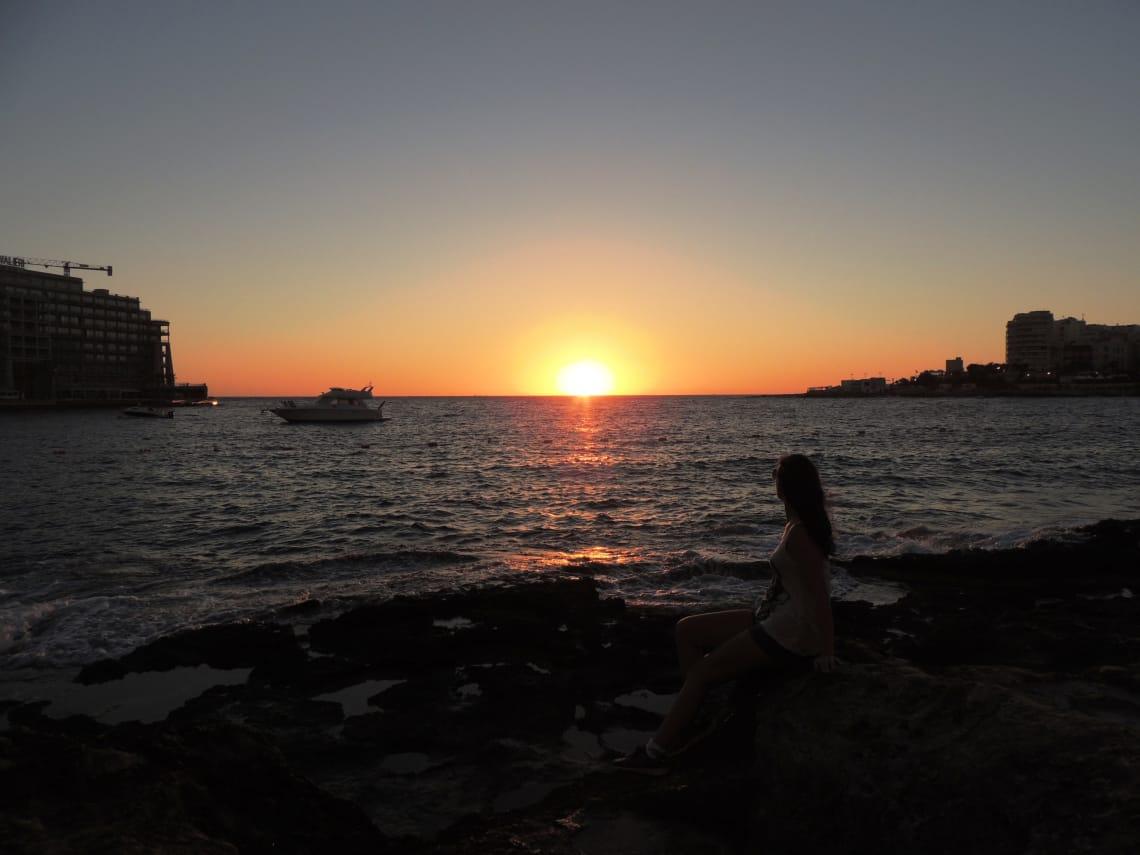 aprendendo ingles como voluntaria en St Julian Malta