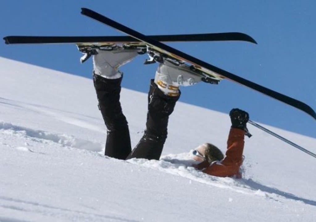 Pratica de esqui é muito comum nessa região da Áustria