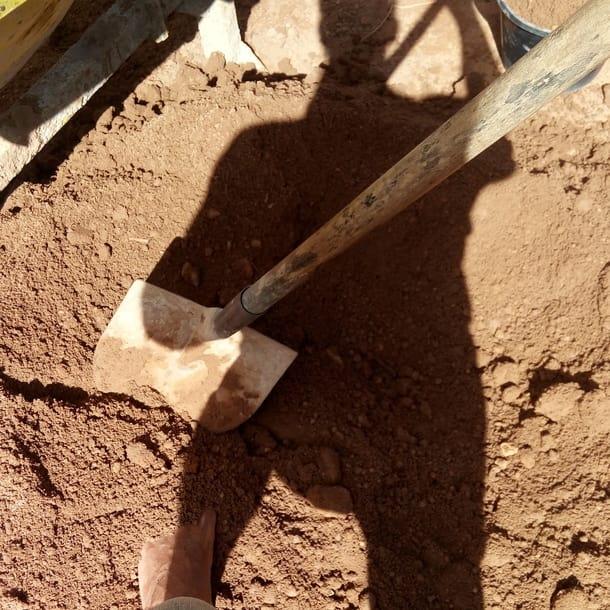 voluntário em bio construção