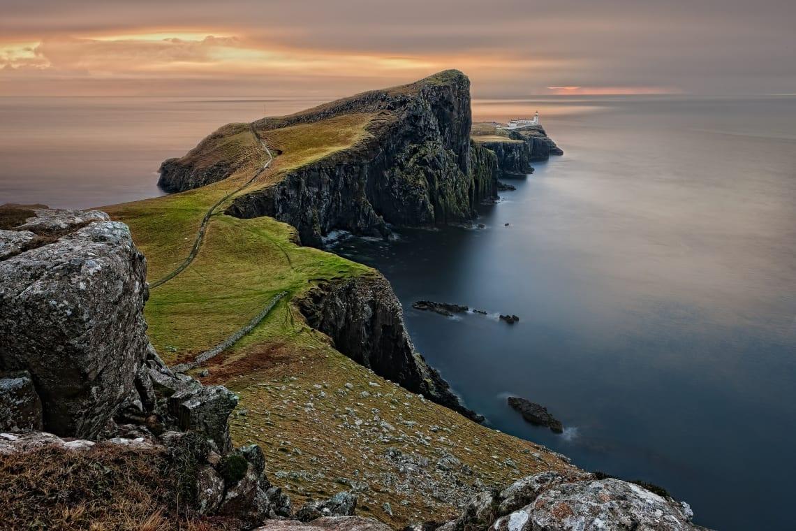 A Escócia, no Reino Unido, é um pais muito seguro para viajar sozinho na Europa